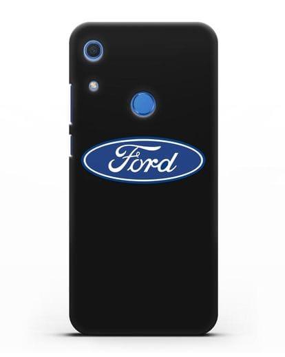 Чехол с логотипом Ford силикон черный для Huawei Y6s